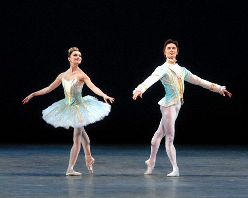 Simple Ballet Pose