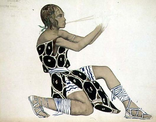 A-Boetian-Costume-Designed-For-Diaghilev$27s-Ballets-Russes,-Probably-For-$27narcisse$27,-1911