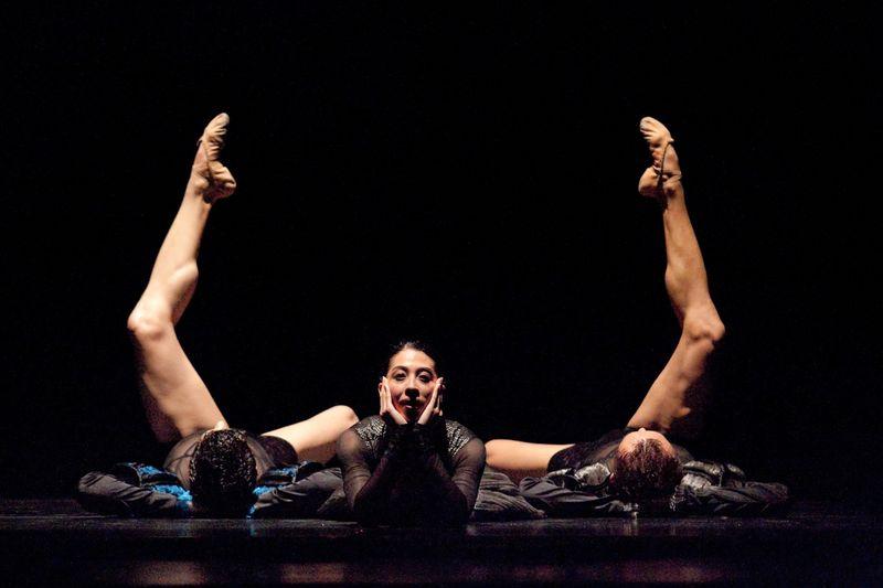 Ricardo Graziano, Derena Chu and Ma Cong by Ralph Cole