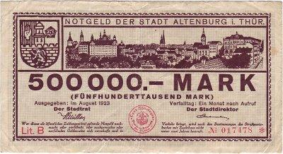 800px-500000_Mark_Altenburg_1923_front