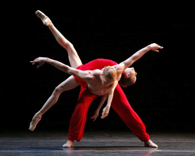 MORPHOSES, Wendy Whelan and Andrew Crawford in RHAPSODY, photo by Erin Baiano