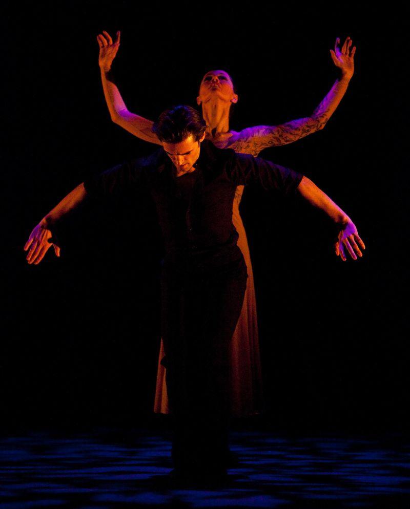 Angel Corella & Carmen Corella in Pages' SOLEA, photo by Rosalie O'Connor
