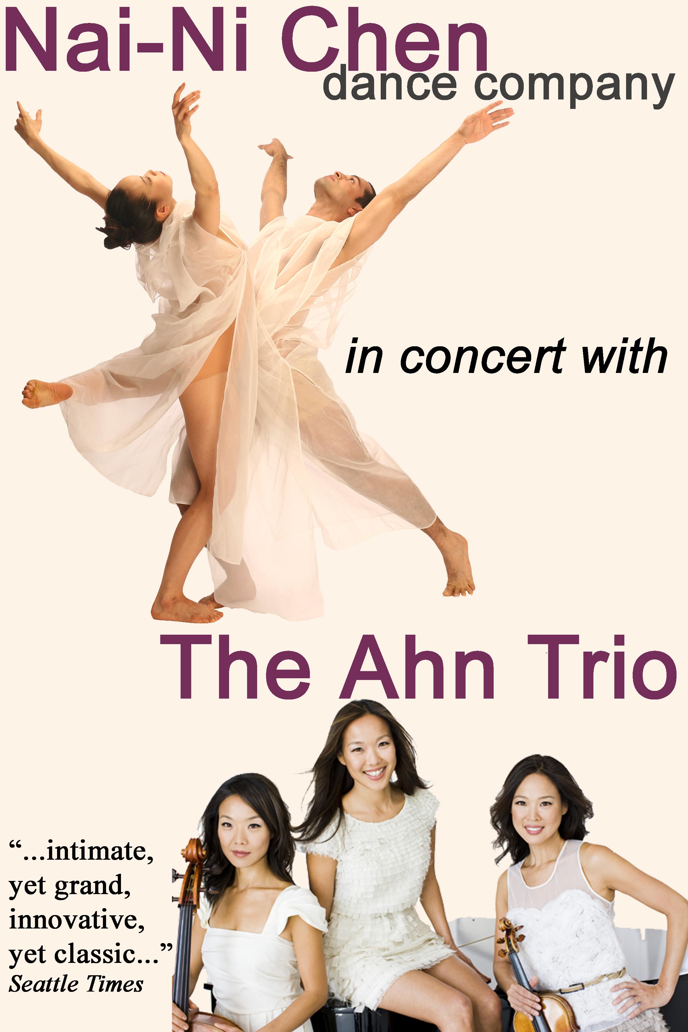 Image result for NAI-NI CHEN DANCE COMPANY AND THE AHN TRIO
