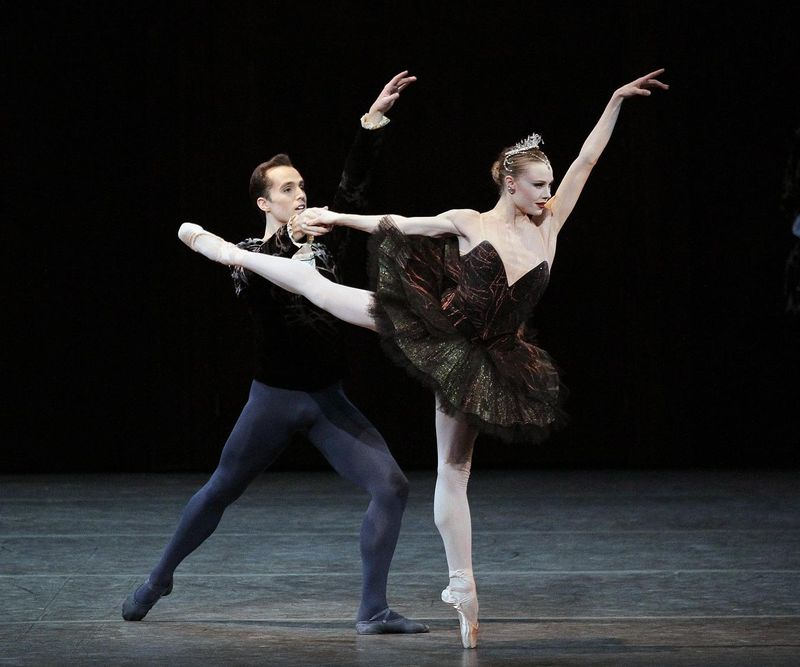 Colorado Ballet S Swan Lake: Oberon's Grove: Sara Mearns & Jared Angle In SWAN LAKE