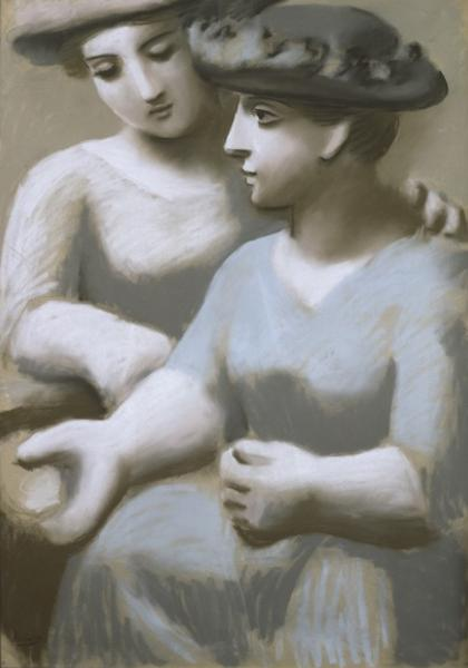 17_Two_Women_with_Hats_1921_PrivateCollection_600-e1324079915260