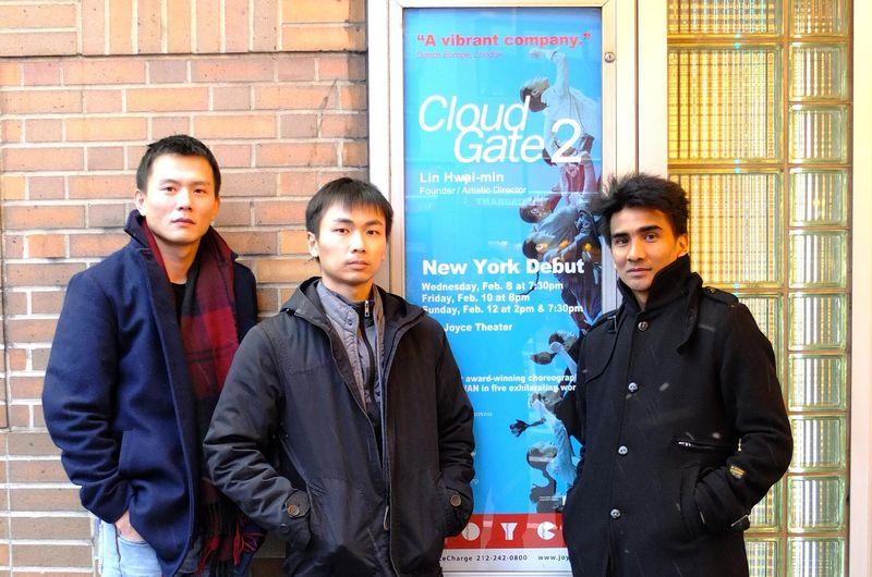 Choreographers outside the Joyce (2)
