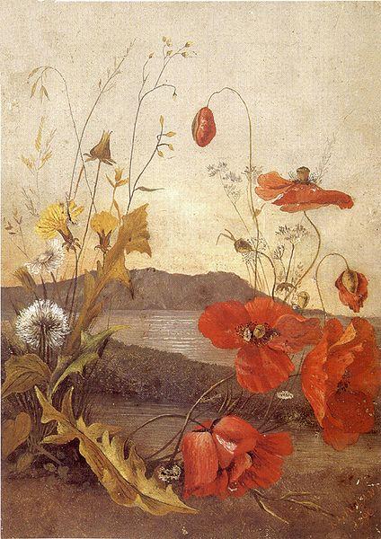 424px-'Poppies',_oil_on_canvas_painting_by_Princess_Ka'iulani,_1890