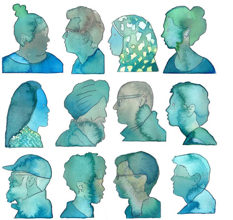 Diversity in blue