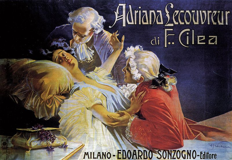 Poster _-_Adriana_Lecouvreur