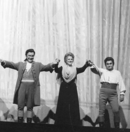 CHENIER curtain call 1970 Colzani Tebaldi Tucker