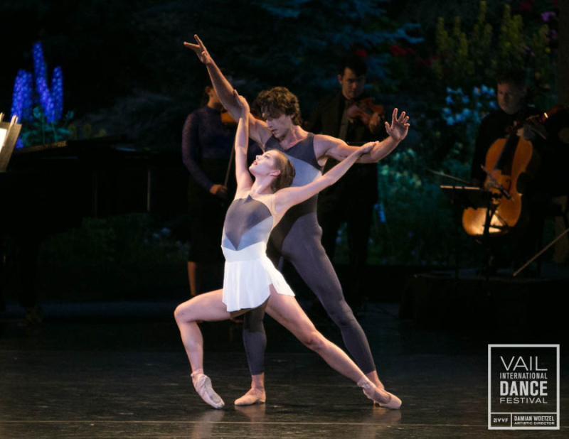 Unity Phelan, Zachary Catazaro and the Catalyst Quartet in Claudia Schreier's Solitaire. Photo by Erin Baiano (3)