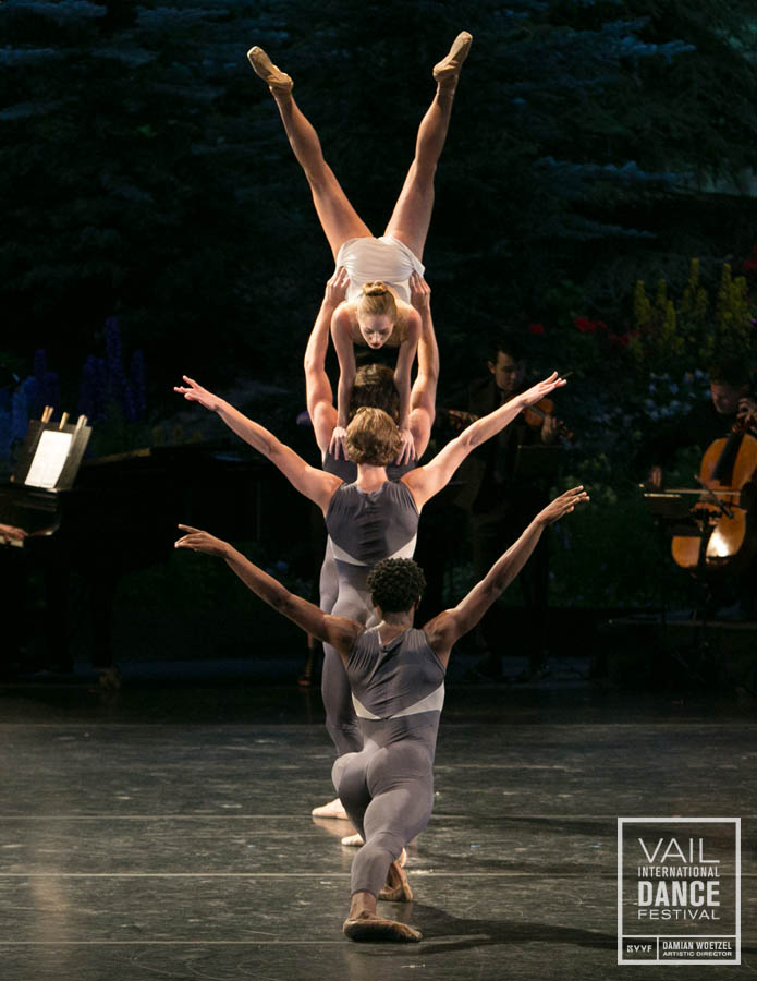 Unity Phelan, Zachary Catazaro, Joseph Gordon and Da'Von Doane in Claudia Schreier's Solitaire. Photo by Erin Baiano