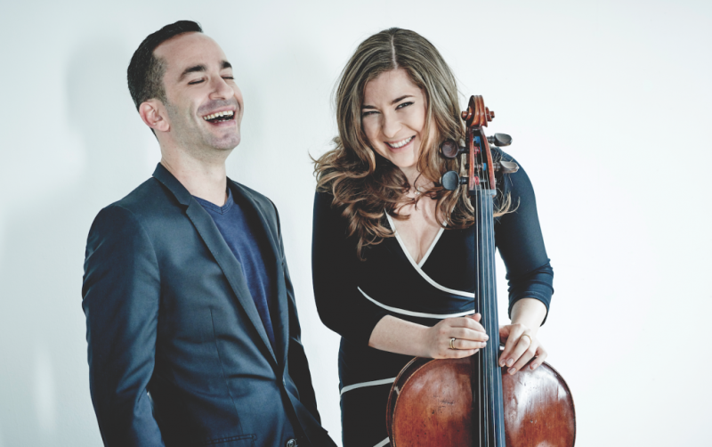 Barnatan and Weilerstein Photo by Paul Stewart