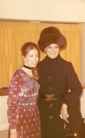 Gerda de Keyser & Renata December 1970