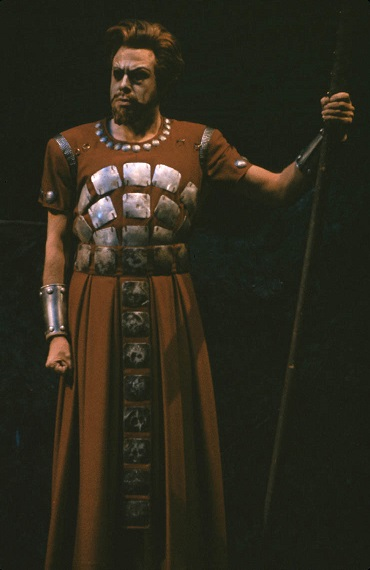 George London as Wotan