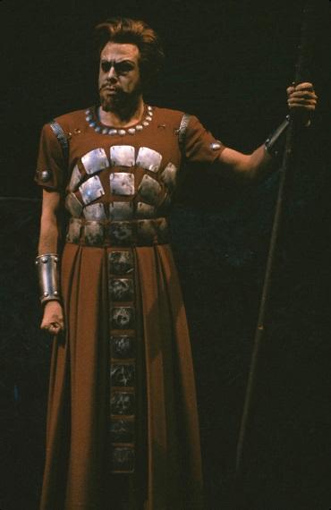George London as Wotan