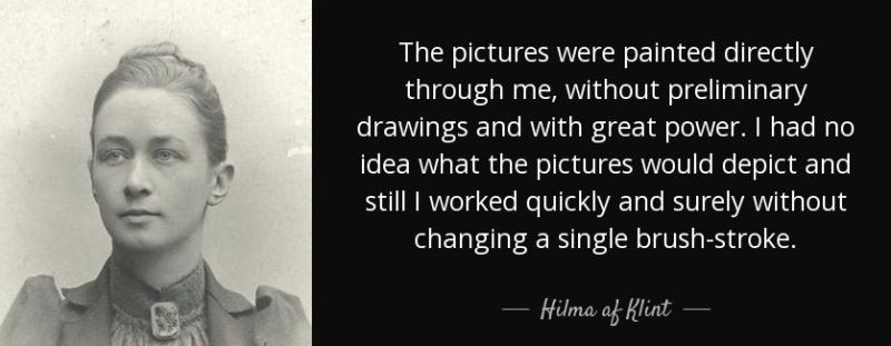 Quote hilma-af-klint